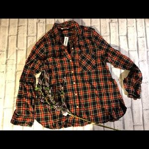 Old navy flannel shirt. NWT